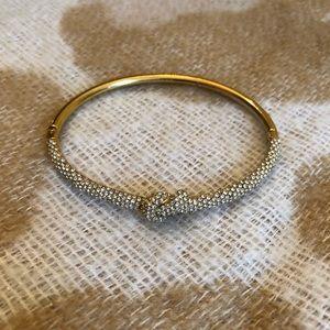 Michael Kors Pave Knot Bracelet